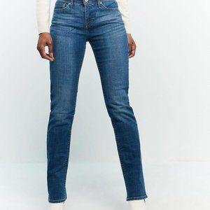 Levi's 525 Perfect Waist Women's Straight Leg Jean